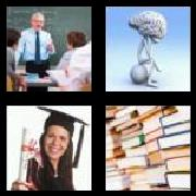 4 Pics 1 Word 8 Letters Answers Academic
