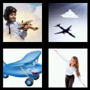 4 Pics 1 Word 8 Letters Answers Airplane