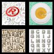 4 Pics 1 Word 8 Letters Answers Alphabet