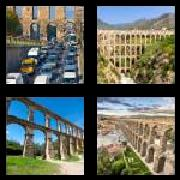 4 Pics 1 Word 8 Letters Answers Aqueduct