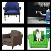 4 Pics 1 Word 8 Letters Answers Armchair