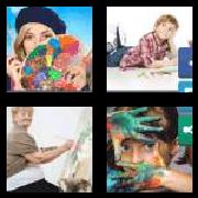 4 Pics 1 Word 8 Letters Answers Artistic