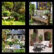 4 Pics 1 Word 8 Letters Answers Backyard