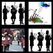 4 Pics 1 Word 8 Letters Answers Bagpipes