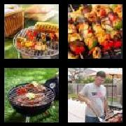 4 Pics 1 Word 8 Letters Answers Barbecue