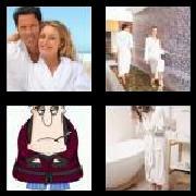 4 Pics 1 Word 8 Letters Answers Bathrobe
