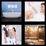 4 Pics 1 Word 8 Letters Answers Bathroom