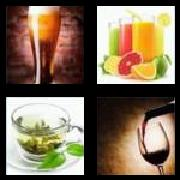 4 Pics 1 Word 8 Letters Answers Beverage