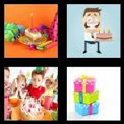 4 Pics 1 Word 8 Letters Answers Birthday