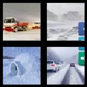 4 Pics 1 Word 8 Letters Answers Blizzard