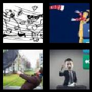 4 Pics 1 Word 8 Letters Answers Blustery