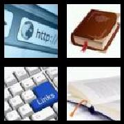 4 Pics 1 Word 8 Letters Answers Bookmark