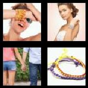 4 Pics 1 Word 8 Letters Answers Bracelet