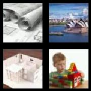 4 Pics 1 Word 8 Letters Answers Building