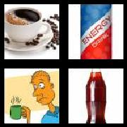 4 Pics 1 Word 8 Letters Answers Caffeine