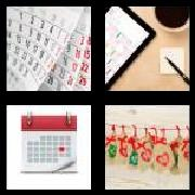 4 Pics 1 Word 8 Letters Answers Calender