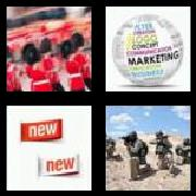 4 Pics 1 Word 8 Letters Answers Campaign