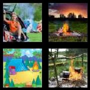 4 Pics 1 Word 8 Letters Answers Campfire