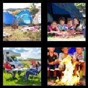 4 Pics 1 Word 8 Letters Answers Campsite