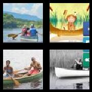4 Pics 1 Word 8 Letters Answers Canoeing