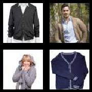 4 Pics 1 Word 8 Letters Answers Cardigan