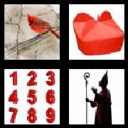 4 Pics 1 Word 8 Letters Answers Cardinal