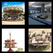 4 Pics 1 Word 8 Letters Answers Carousel