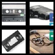 4 Pics 1 Word 8 Letters Answers Cassette