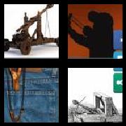 4 Pics 1 Word 8 Letters Answers Catapult