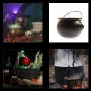 4 Pics 1 Word 8 Letters Answers Cauldron