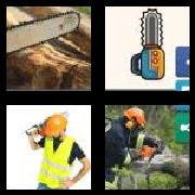 4 Pics 1 Word 8 Letters Answers Chainsaw