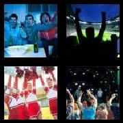 4 Pics 1 Word 8 Letters Answers Cheering