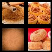 4 Pics 1 Word 8 Letters Answers Cinnamon