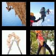 4 Pics 1 Word 8 Letters Answers Climbing