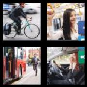 4 Pics 1 Word 8 Letters Answers Commuter