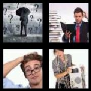 4 Pics 1 Word 8 Letters Answers Confused