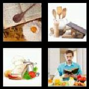 4 Pics 1 Word 8 Letters Answers Cookbook