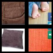 4 Pics 1 Word 8 Letters Answers Corduroy