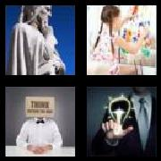 4 Pics 1 Word 8 Letters Answers Creative