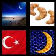 4 Pics 1 Word 8 Letters Answers Crescent