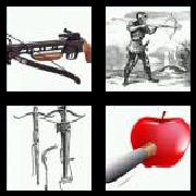 4 Pics 1 Word 8 Letters Answers Crossbow