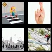 4 Pics 1 Word 8 Letters Answers Crossing