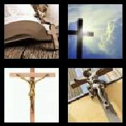 4 Pics 1 Word 8 Letters Answers Crucifix