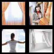 4 Pics 1 Word 8 Letters Answers Curtains