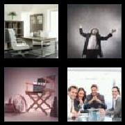 4 Pics 1 Word 8 Letters Answers Director