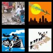 4 Pics 1 Word 8 Letters Answers Disaster