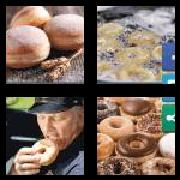 4 Pics 1 Word 8 Letters Answers Doughnut