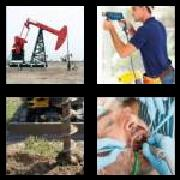4 Pics 1 Word 8 Letters Answers Drilling
