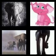 4 Pics 1 Word 8 Letters Answers Elephant