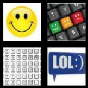 4 Pics 1 Word 8 Letters Answers Emoticon